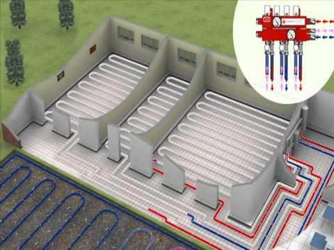 Underfloor Heating Amp Cooling System Multi Room Youtube