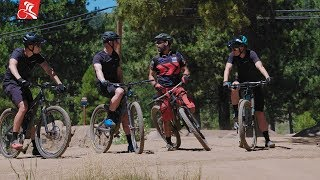 How to Become a Faster Mountain Biker - MTB Skills with Lee Likes Bikes