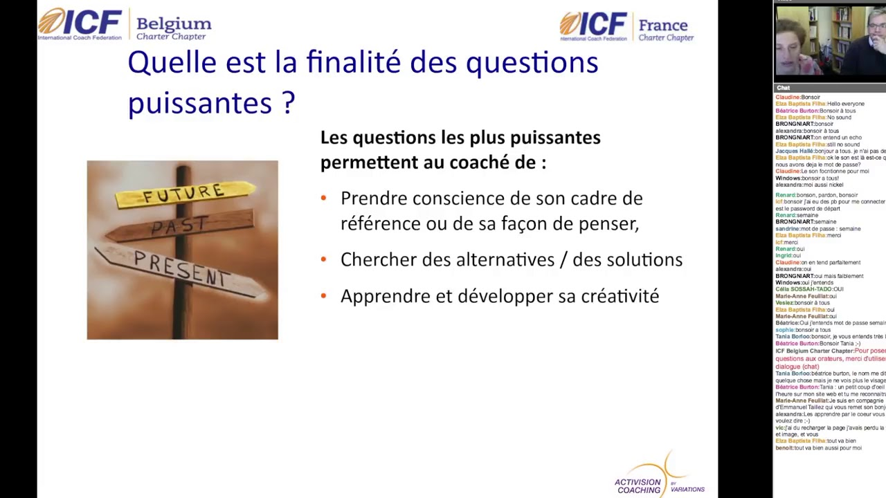 Les Questions Puissantes - ICF Synergie - YouTube