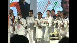 Karnataka: Rahul Gandhi Releases Congress' Manifesto   ABP News