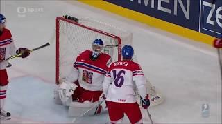 Česko - Rusko čtvrtfinále MS 2017