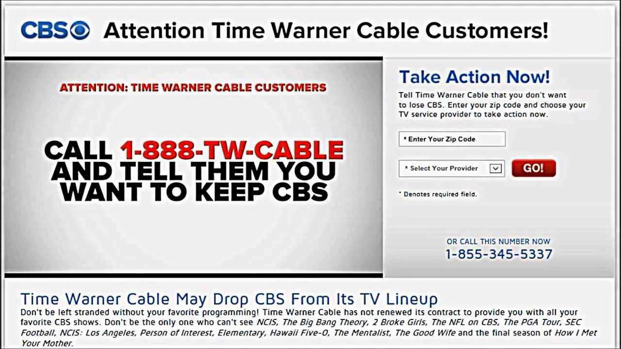 Twctime Warner Cable 888 Twcable: Attention TWC Customers -- KEEP CBS !! - YouTuberh:youtube.com,Design