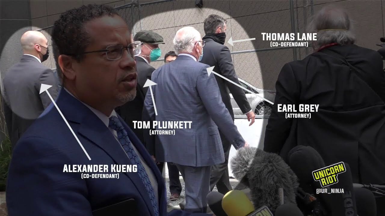 George Floyd Case: Kueng and Lane Met by Hundreds of Protesters Upon Leaving Pre-Trial Hearing
