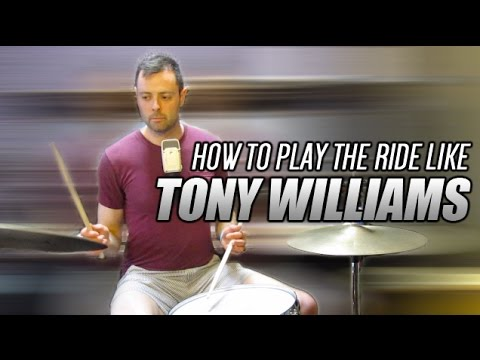 How to Play the Ride Cymbal like Tony Williams - The 80/20 Drummer