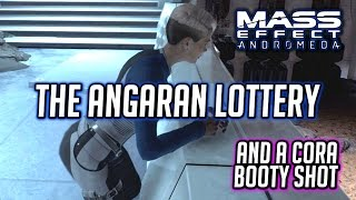 Mass Effect Andromeda: The Lottery on Aya + Cora Booty Shot