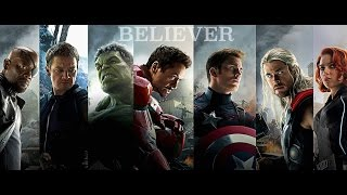 Marvel AMV: Imagine Dragons Believer