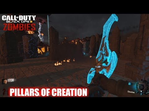 PILLARS OF CREATION CUSTOM ZOMBIES CON EASTER EGG Y BOSS FIGHT (ง ͠° ͟ل͜ ͡°)ง | BLACK OPS 3 ZOMBIES