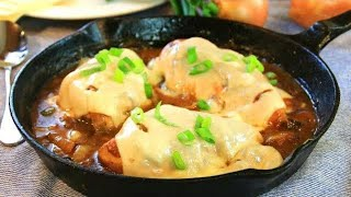 One Pan French Onion Chicken