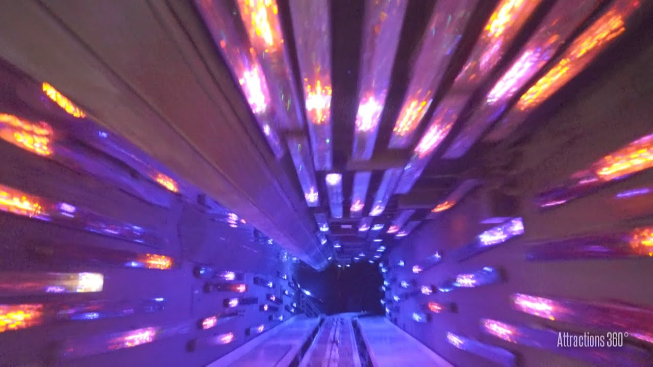 K Hong Kong Space Mountain RideThrough Excellent Low - Journey through tokyo and space in this incredible 360 video