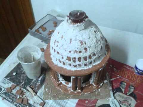 Construcci n de una c pula youtube - Como hacer una maqueta de una casa ...