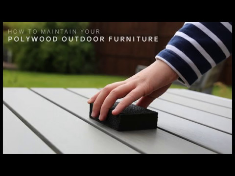 How to maintain your Polywood Outdoor Furniture