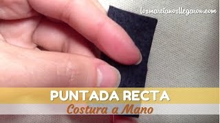 799edb5439e Costura a Mano - Puntada Recta