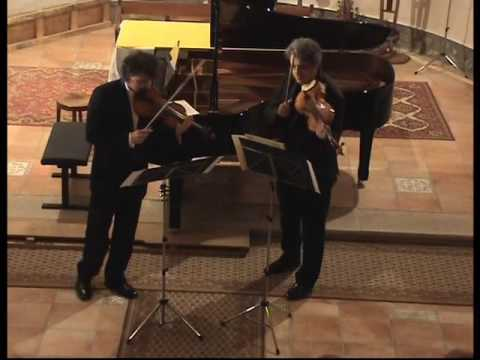 Dejan BOGDANOVICH,violin  and Pierre Henri XUEREB,viola  :11 Caprices Philippe HERSANT