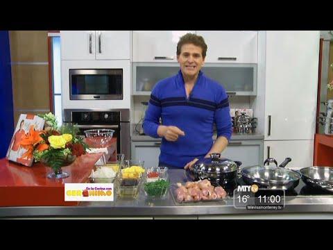 En la cocina con ger nimo pollo a la naranja parte 3 - Television en la cocina ...