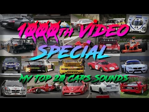 TOP 20 Favorite Car Sounds!! - The Best Sounding Cars I Recorded So Far