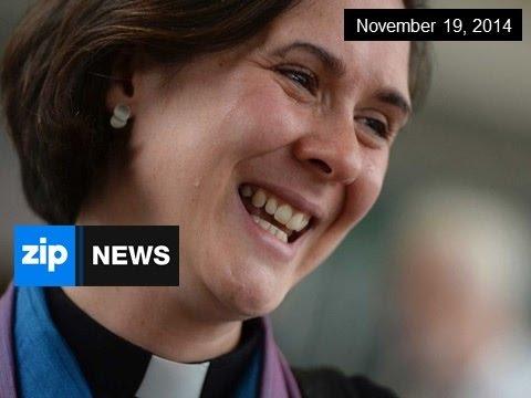 Church Of England Allows Women Bishops - Nov 19, 2014
