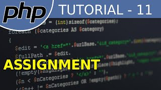 PHP tutorial for Beginners #11 Assignment Operators Mp3