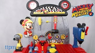 Mickey and the Roadster Racers Pit Crew Workbench from Just Play