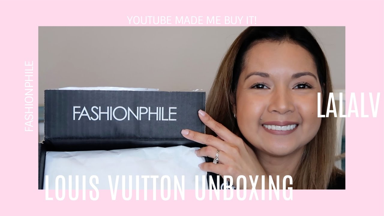 69cc5b64dc3595 YouTube Made Me Buy It | Louis Vuitton Unboxing | Fashionphile | LalaLV