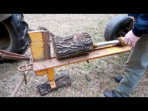 How to build a Homemade Log Splitter - The Lighthouse Lady