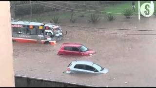 Sections of Nairobi submerged under rain water