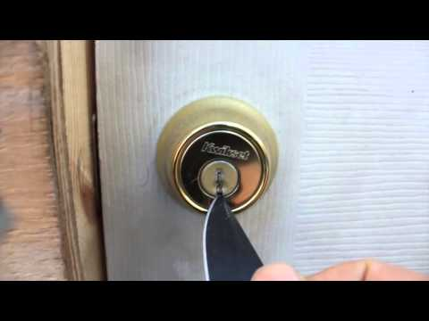 How to get Broken key out of lock without locksmith!  No special tools!
