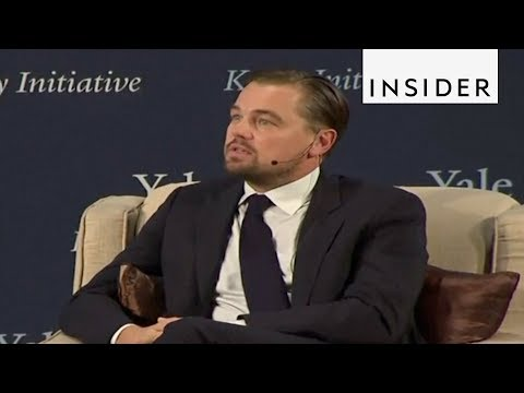 Leonardo DiCaprio Talks Climate Change