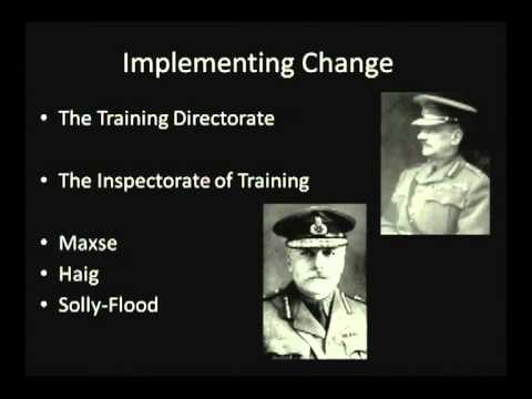 Development of British Doctrine in the First World War by LtCol James Cook