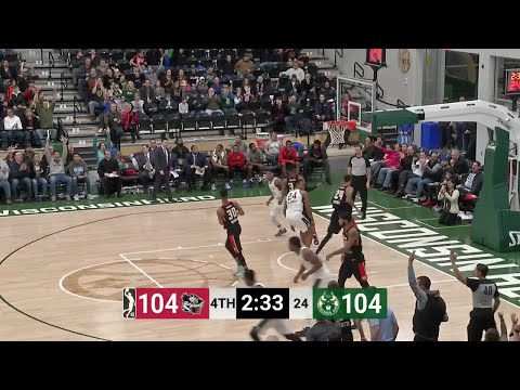 Joel Bolomboy Posts 21 points & 11 rebounds vs. Erie BayHawks