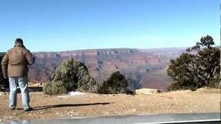 A drive along the South Rim of the Grand Canyon National Park