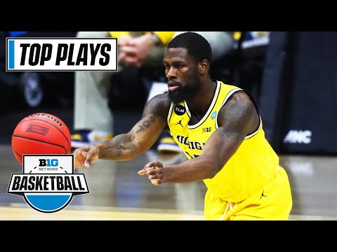 50 of the Top Plays by Michigan SG Chaundee Brown | Big Ten in the 2021 NBA Draft