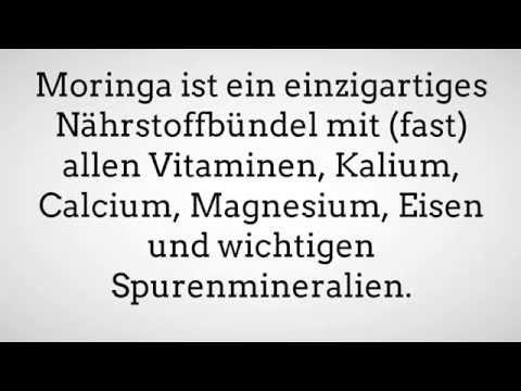 Moringa Oleifera Pulver Inhaltsstoffe- Moringa Blattpulver Inhaltsstoffe- Was ist Moringa