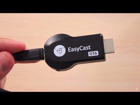 Обзор EasyCast Поддерживает AirPlay и Miracast