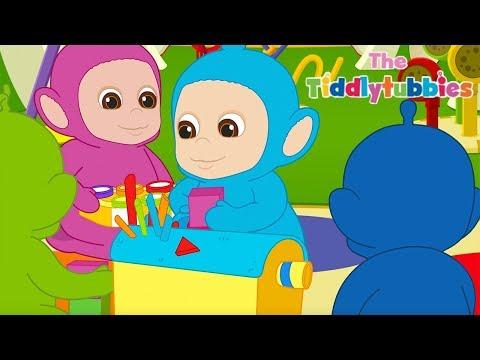 Tiddlytubbies 2D Series! | Tiddlytubbies Having Fun! COMPILATION 4 | Teletubbies Babies