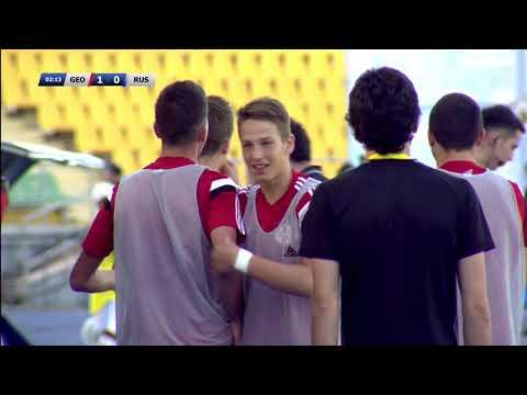 KAZAKHSTAN PRESIDENT CUP-2017. FINAL. RUSSIA- 2 (U17) - GEORGIA (U17)