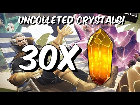 30x Uncollected Daily Crystal Opening + Surprise Double Opening! - Marvel Contest Of Champions