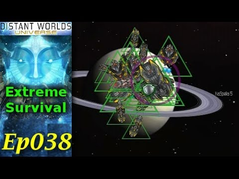 Distant Worlds Universe - Extreme Survival LP - Ep038 - Capital Ships!