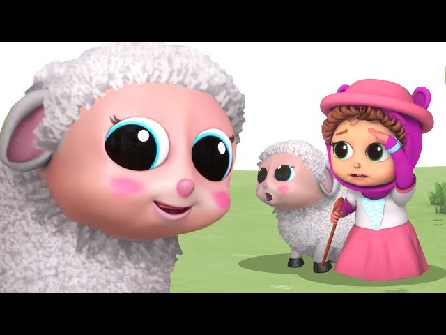 Little Bo Peep | Learn  Numbers 12345