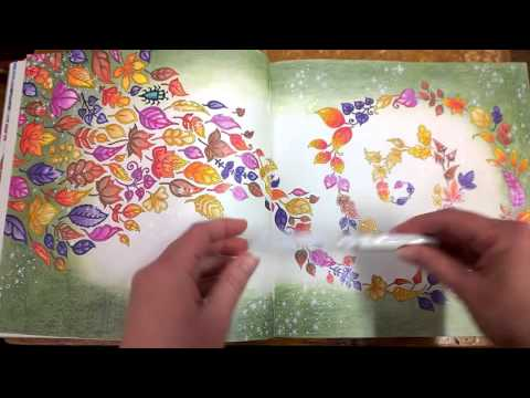 The Fifth Colouring Book In My Series Features Johanna Basfords Beautiful Enchanted Forest This Walk Through Will Feature A Number Of