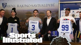 LiAngelo & LaMelo Ball's Laid-Back Life In Lithuania: An Inside Look | SI NOW | Sports Illustrated