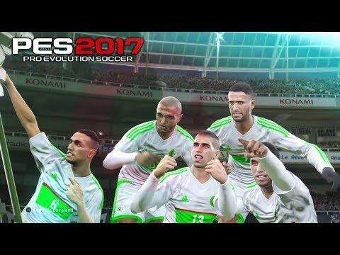 PES 2017 / Algeria VS France / المنتخب الجزائري ضد المنتخب الفرنسي (GAMEPLAY)