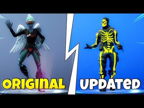Original Emotes That Were ALTERED! (LEAKED Versions) Fortnite Battle Royale