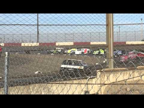 Dirt Track at Kern County Raceway Park - Racing Action! - dirt track racing video image