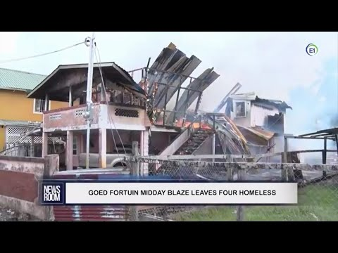GUYANA UPDATES   Ep 176  GFS Incredibly Continues To Fail As Usual; 4 Houses Destroyed Within 48 Hrs