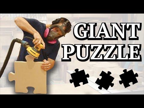 Giant Puzzle 🔨🌳