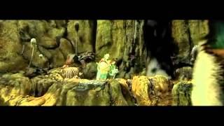 The Croods - Tar pit scene
