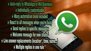 Create Your own Auto Reply Whatsapp bot + Auto Responder Tutorial Demo ||CAREFUL TUBER