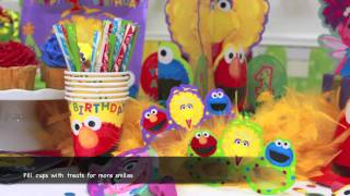 Elmo's First Birthday Party Supplies