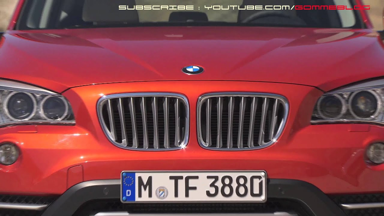 bmw x1 restyling 2012 my 2013 x1 25d youtube. Black Bedroom Furniture Sets. Home Design Ideas