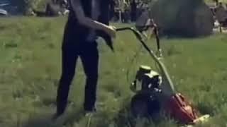 Заводная Газонокосилка